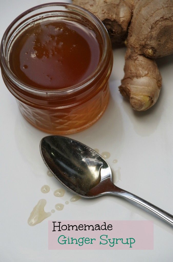 Homemade ginger syrup recipe.  Use in homemade ginger ale or any dessert recipe that calls for ginger!