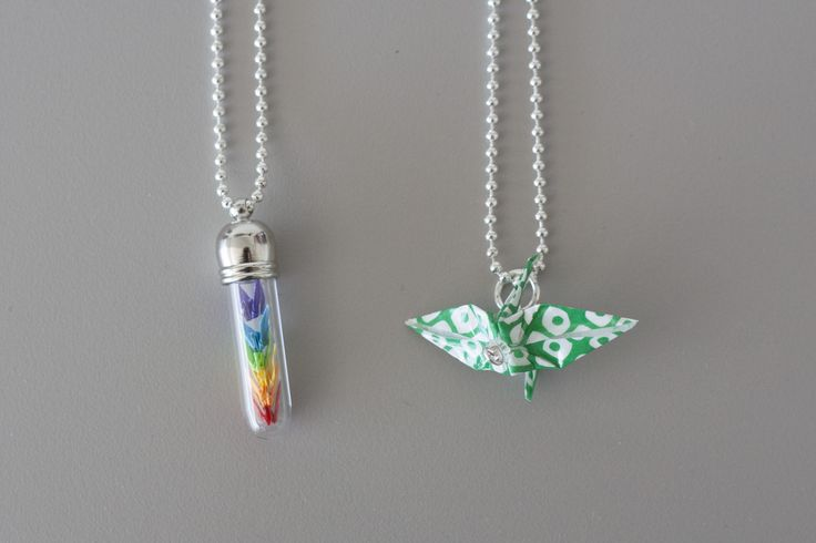 These one of a kind handmade Origami necklaces were made by Sacramento artist @Wingy Lam. Each piece Wingy makes is hand folded and lovingly assembled waiting to be worn. Available at Crocker Art Museum Store.: Art Museum