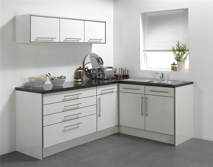 High Gloss White PVC Edged Door   Stylish Without Breaking The Bank. Why  Not Spruce Up Your Kitchen?