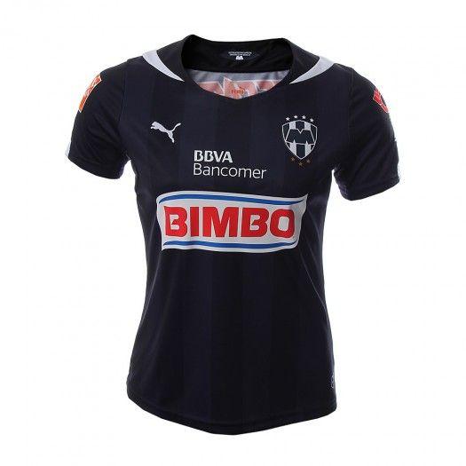 ¡Adquiere el nuevo jersey visitante de Rayados para esta temporada 2014- 2015 y sé de las primeras en portarla!
