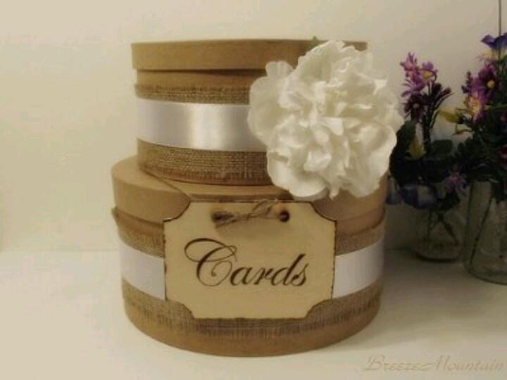 Burlap Flower Girl Basket Hobby Lobby : Ideas on how i can make it cuter burlap card box