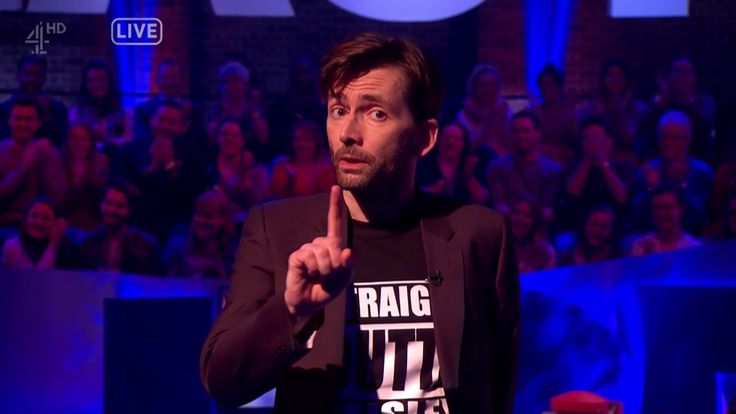 David Tennant Assures Us That Everything Will Be Alright (If we make it alright) - The Last Leg