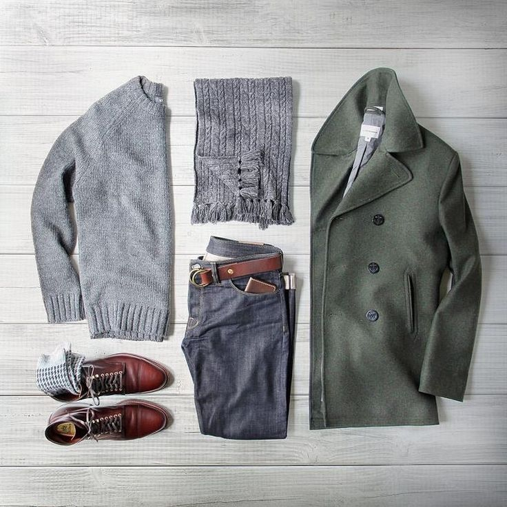 Love the entire fit, especially the peacoat!