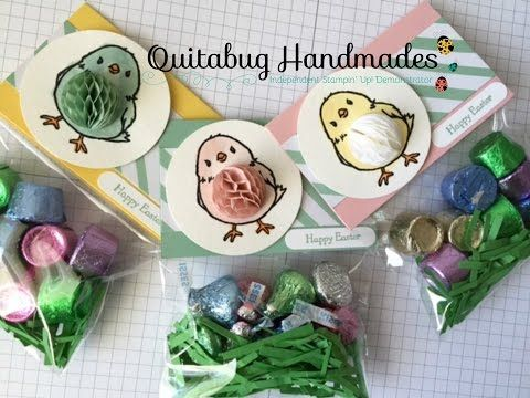 263 best stampin up easter images on pinterest easter treat stampin up easter treat bag topper using honeycomb happiness youtube negle Image collections