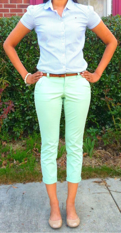 Let's hear it for the skinny mint capri!