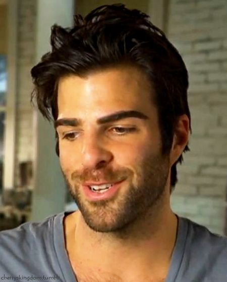 Zachary Quinto. Gah I'm so in love w him.