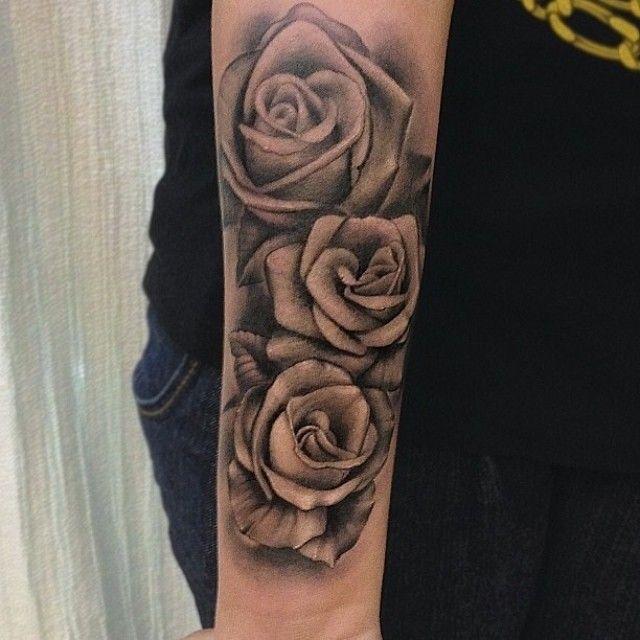mis 3 rosas tattoo roses rose tattoo tattoos. Black Bedroom Furniture Sets. Home Design Ideas