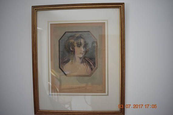 authentic gravure late 18th c. France