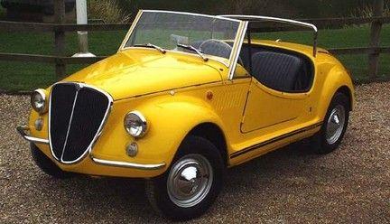Fiat 500 Gamine Vignale