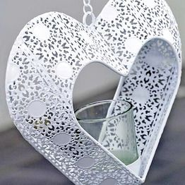 Hänglykta - White Heart