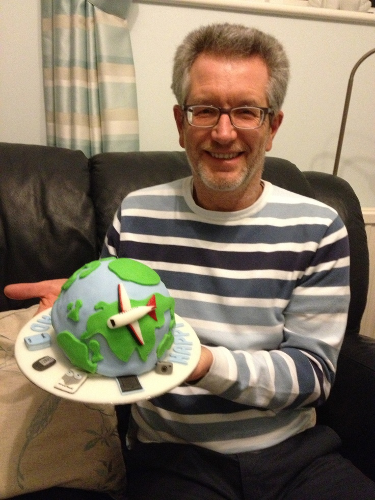 Dad and his Silver Travel Cake