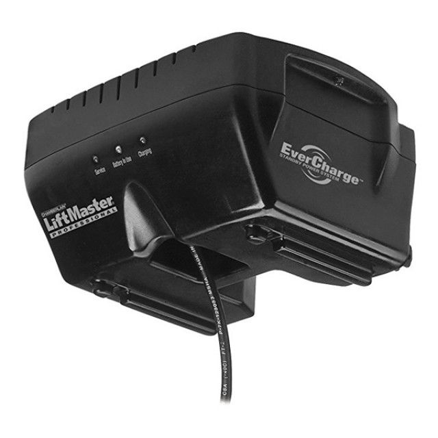 Liftmaster 475lm Evercharge Standby Power System Diy Garage Door