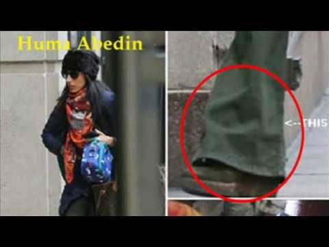 Hillary Clinton Aide Huma Abedin Spotted In New York Wearing Ankle Mon...