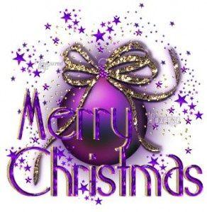 Merry Purple  Christmas                                                       …