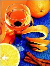 Ликер из апельсинов с корицей