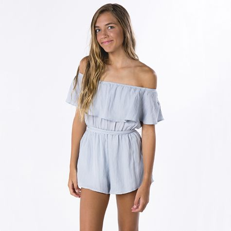Image for Ava And Ever Girls Full Of Frills Playsuit from City Beach Australia
