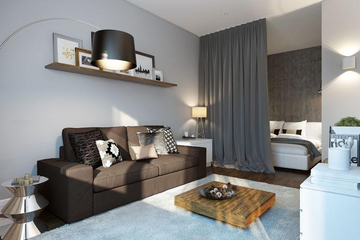 Интерьер, Минимализм, Гостиная,  гостиная в современном стиле,кухня в современном стиле,минимализм,серый в интерьере,спальня в серых тонах,