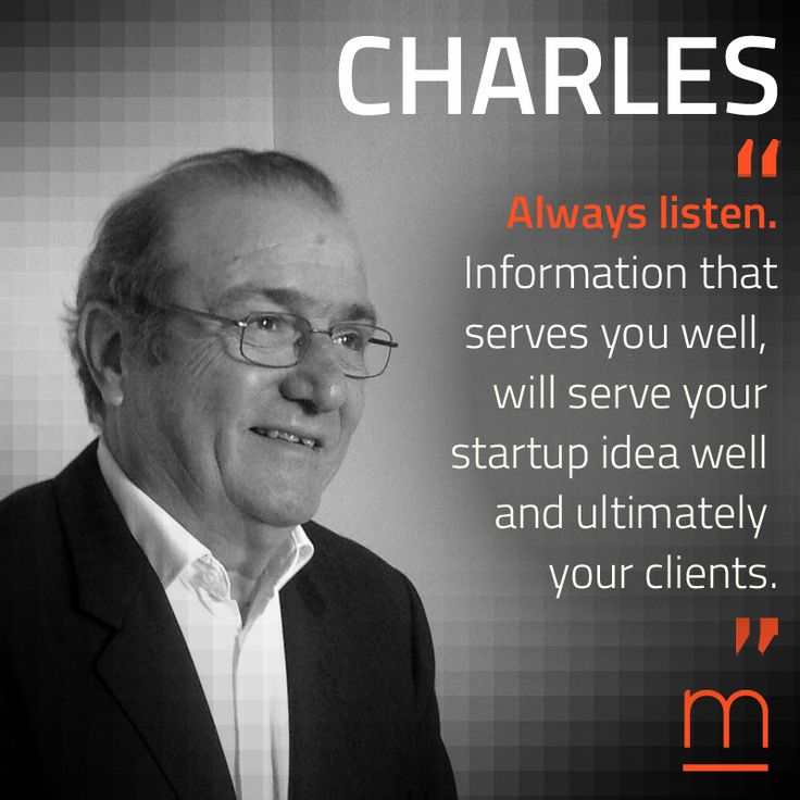 """Listen up."" Welcome Sales Veteran Charles Legrand to our network of Experts for #TheAccelerator2016."