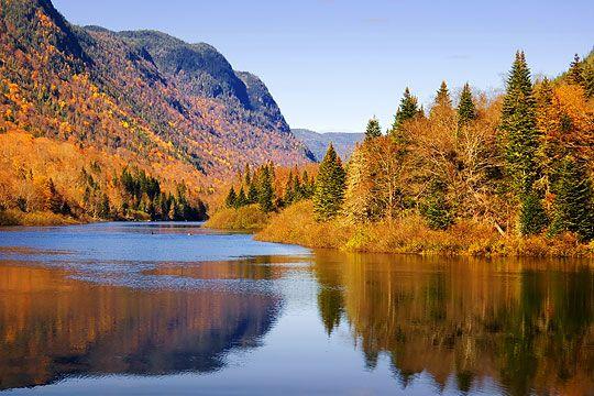 Samedi 28 septembre : Randonnée au Parc de la Jacques Cartier - Tour des Monts France-Québec