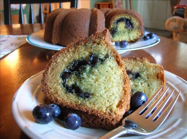 Fresh Blueberry Coffee Cake | Recipe