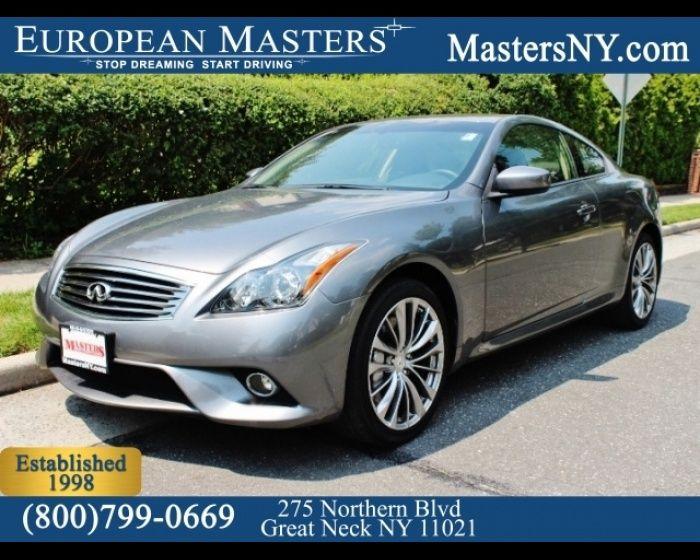 2013 INFINITI G37X AWD  - $24895, #EuropeanMasters #LuxuryCars #BenzForLess  http://www.theeuropeanmasters.net/infiniti-g37x-awd-used-great-neck-ny_vid_5470449_rf_pi.html