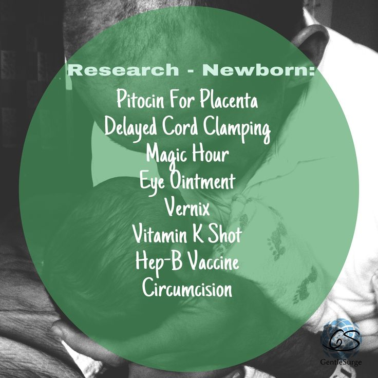 Continuing with RESEARCH lists. Familiarize yourself with these terms so you can make informed decisions! We can help point you to some general information, great articles and evidence-based research on these topics related to your NEWBORN.  All of these procedures/topics will come up within the first seconds to 24 hours after baby is born.  #HypnoBirthing #MonganMethod #gentlesurge  #birth #pregnancy #informedconsent #delayedcordclamping #eyeointment #vernix #vitamink #vaccination…
