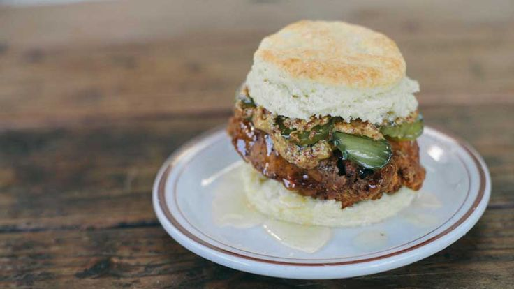 Pine State Biscuits in Portland, OR.  Recommended by Food & Wine magazine.