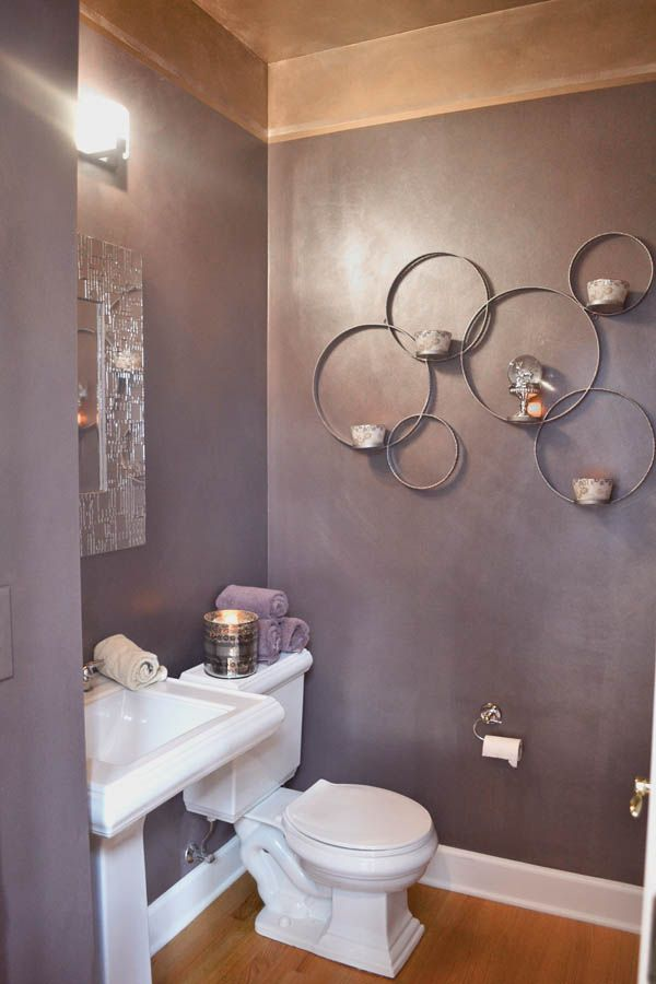 Problem solved updating a downstairs half bath paint - Half bathroom decorating ideas for small bathrooms ...