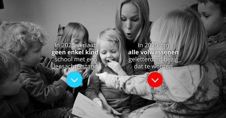» In 2025 verlaat geen enkel kind school met een leesachterstandDe Leescoalitie