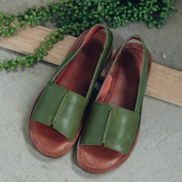 Women Slip on Soft Casual Sandals   Frauen sandalen