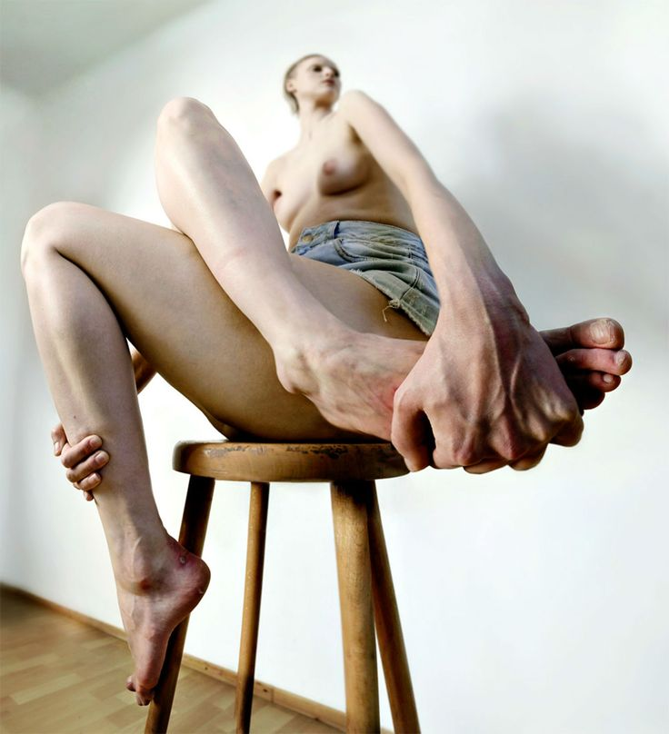 roger weiss photography body distorting scale nude