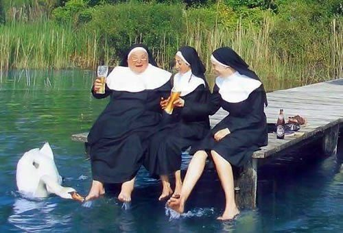 Nuns Having Fun [PHOTOS] - Urlesque