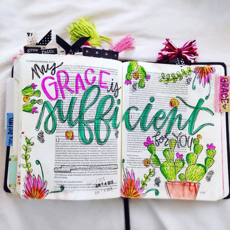 Bible Journaling by @annaelizabeth.xo