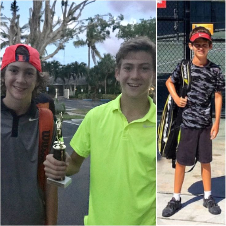 "Congratulations to our JKTA boys: Jackson Gregory, the runner up of boys' 12 at the Njoy Tennis Tournament in Boynton Beach, Florida as well as his twin brother Shepard for winning the back draw at the same event! Well done Jackson & Shepard! Congratulations also to Jaden Brady for not only qualifying for the National Little Mo Tournament in Austin, TX but also winning some really tough matches in Austin. Jaden's mom after one of his tough wins: ""Jaden played the best match he ever played."""
