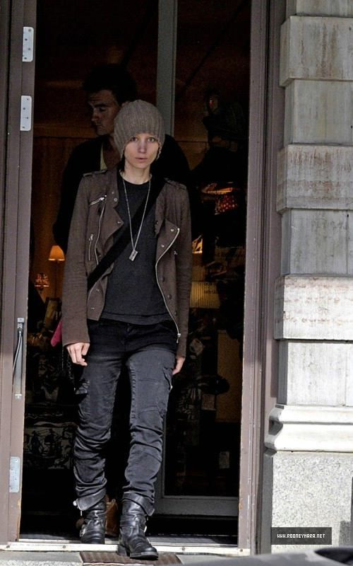 Rooney Mara as Lisbeth Salander. Not only did she do a phenomenal job portraying my favorite literary heroine, but she made me wish I was enough of an androgynous-looking badass to dress like her. *Sigh*