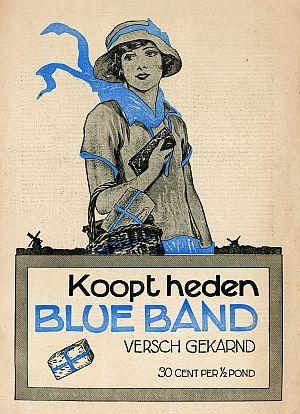 'Koopt heden Blue Band' #Reclame #Advertentie #Affiche #Advertising