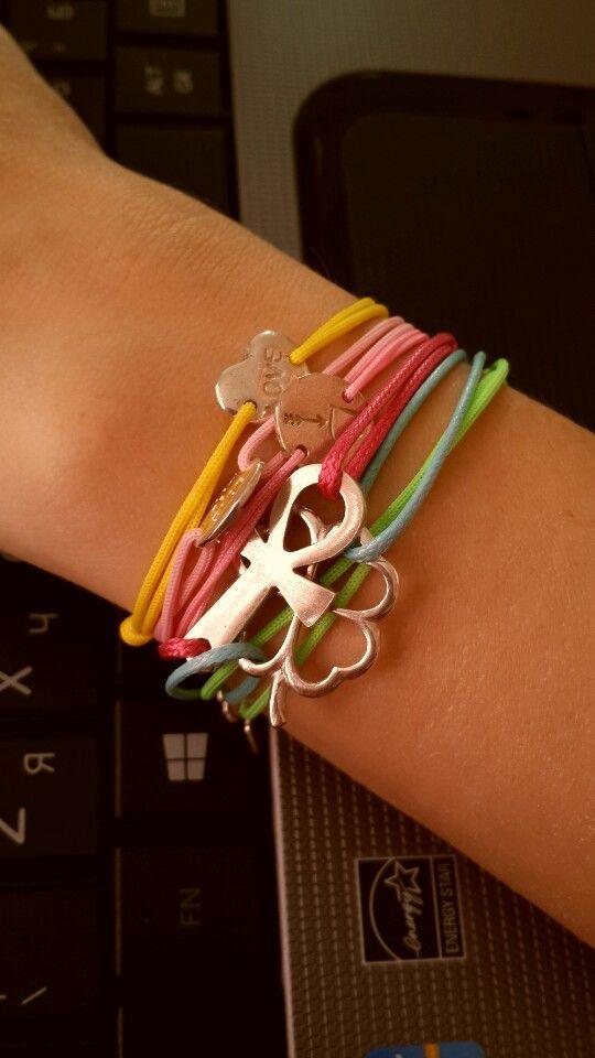 Веревочные браслеты Amorem