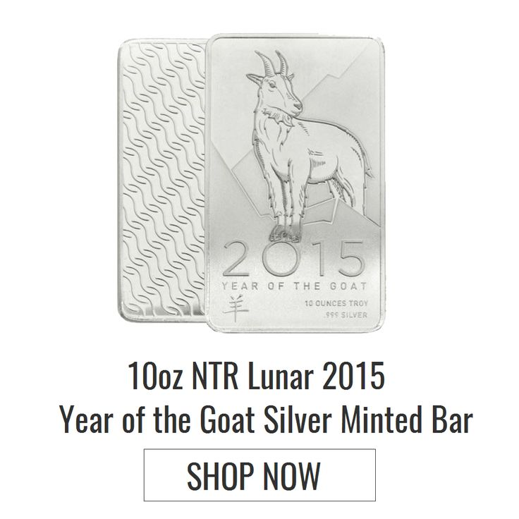 Brisbane bullion has offered 10 oz goat silver minted bar which is an investment bar made of 99.99% pure silver and is of fine grade. Know more at https://www.brisbanebullion.com.au/10-oz-ntr-lunar-2015-year-of-the-goat-silver-minted-bar #gold #silver #platinum #rooster #australian #lunarsilvercoin #brisbanebullion #buy #shopnow #bestprice #brisbane #queenlands #australia #shoponline #goldmintedbar #goldcoin #americaneaglesilvercoin #silvermintedbar #perthmintedgoldbar #goatsilvermintedbar…