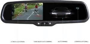 Search Auto dimming rear view mirror with backup camera. Views 115228.