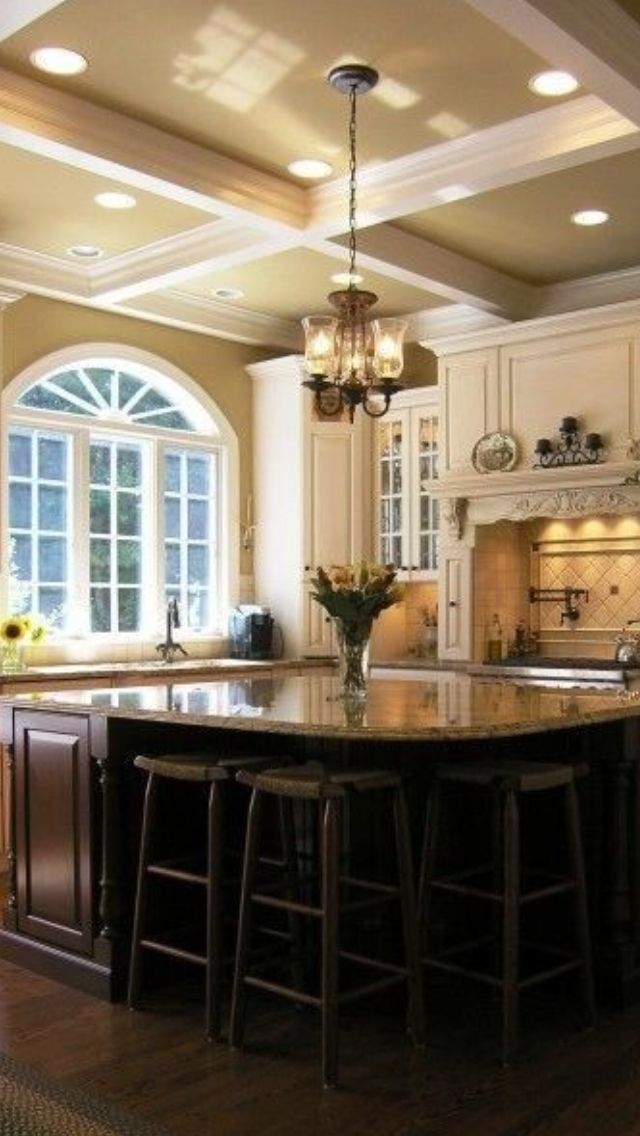 95 best images about for the home on pinterest for Beautiful black kitchens