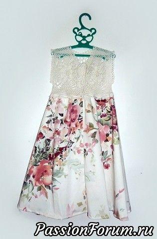 Платье для внучки.