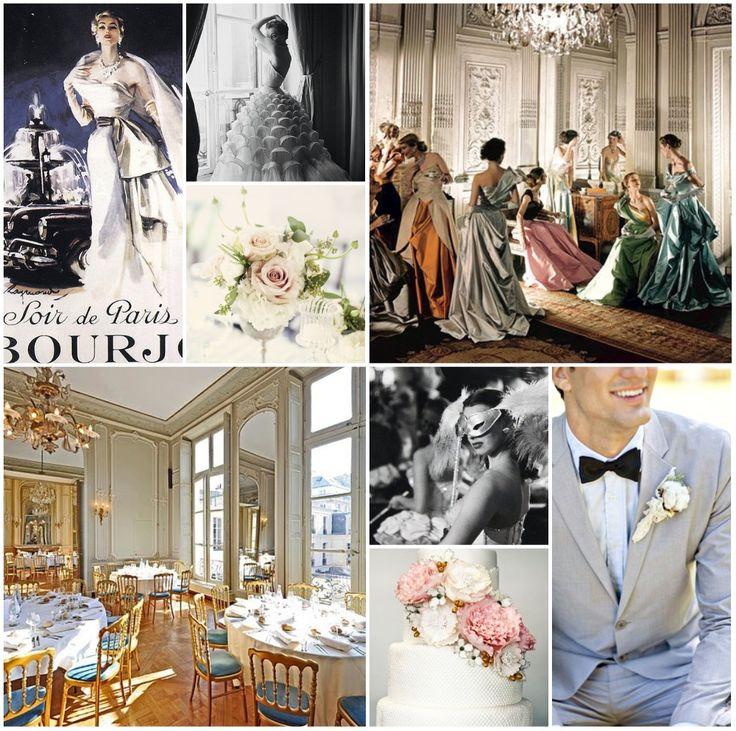 Im Liking The Vintage Parisian Wedding Idea