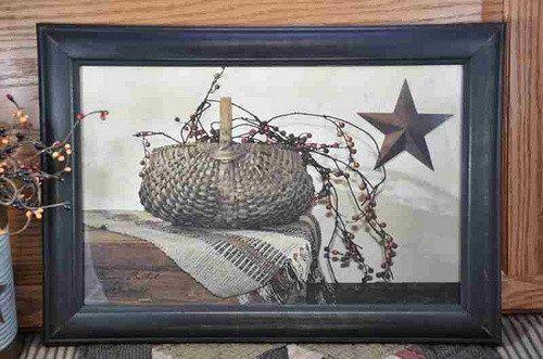 Billy Jacobs Artwork - Berry Basket - Primitive Star Quilt Shop