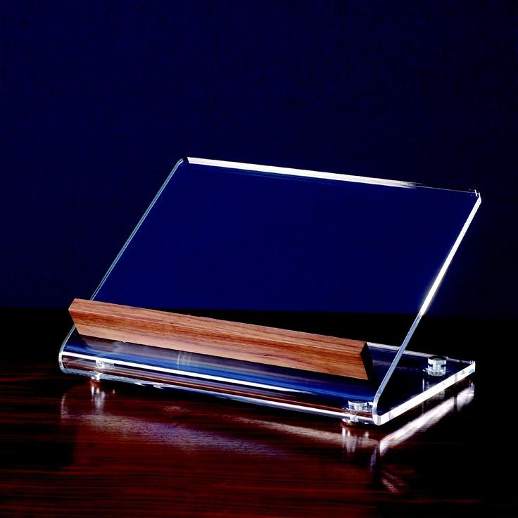 Leggio da tavolo plexiglass curvato e forte spessore - Costruire un leggio da tavolo ...