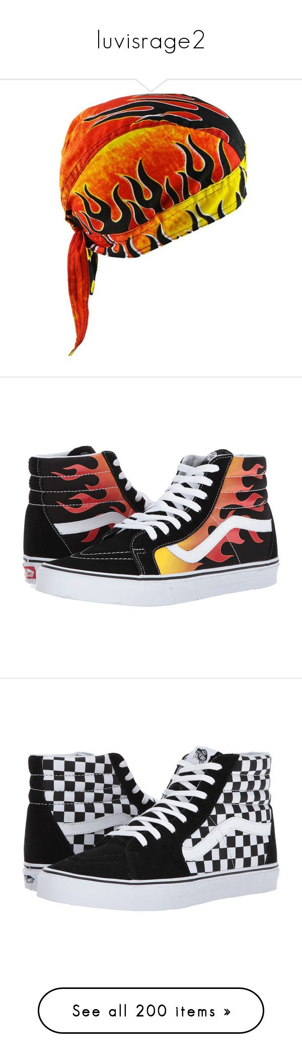 """""""luvisrage2"""" by xxxthebombshellfactoryxxx ❤ liked on Polyvore featuring hats, shoes, sneakers, white high top sneakers, white hi tops, high-top sneakers, white sneakers, leather sneakers, vans and vans high tops"""