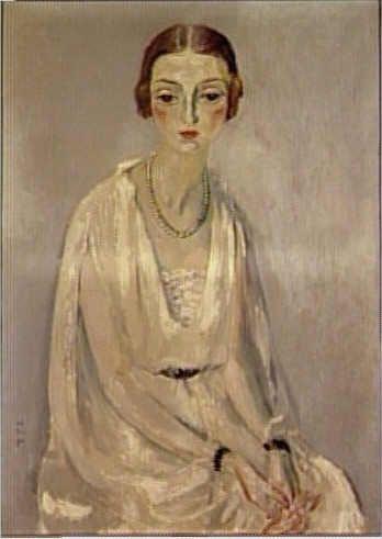 Kees van Dongen (1877-1968) - Portrait de Mme Jeanne Mathis