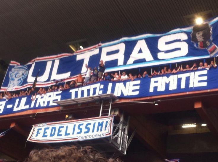 Ultras - Riccardo Garrone Trophy - 2013 #Sampdoria #Marseille