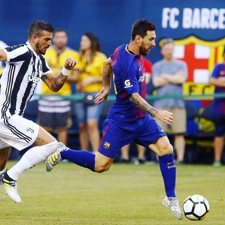 ⚽🏃💨 #FCBarcelona #igersFCB #ForçaBarça #BarçaUStour #Messi #JuveBarça