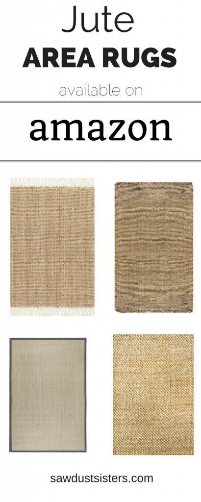 10 Gorgeous JUTE AREA RUGS on Amazon