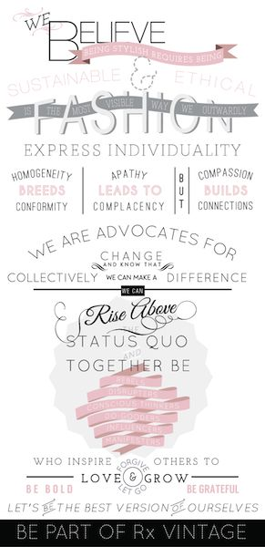 Rx Vintage Manifesto